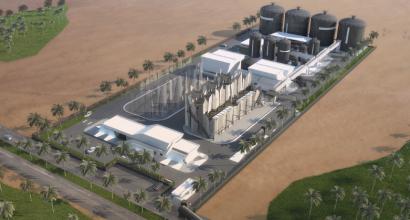 Plant in Almería: Under Construction